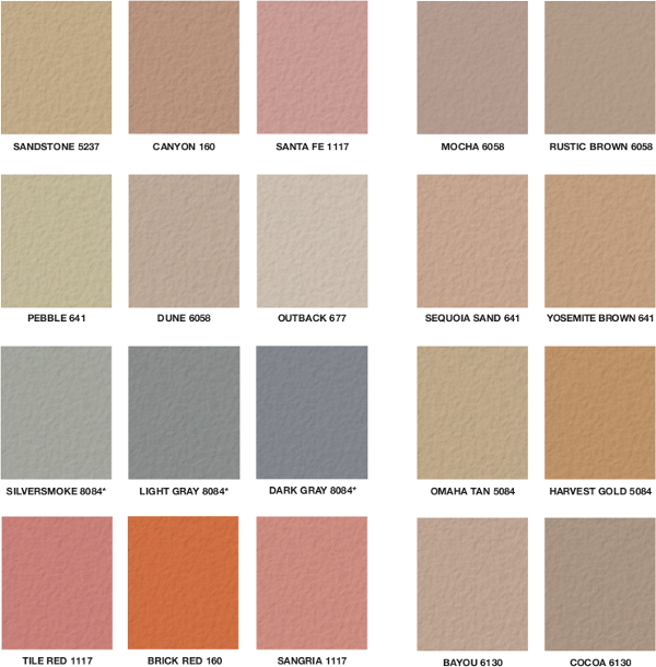 Traditional And Stamped Concrete Color Chart Walkways N More